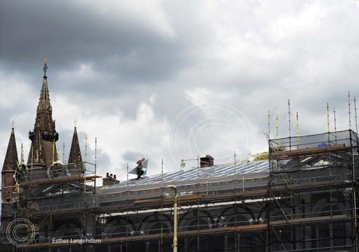 Delft Nieuwe Kerk dakdekkers