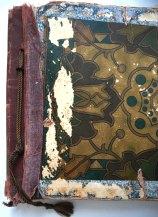 Oude linnenrug en omslag