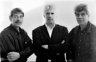 Jan, Frans de Leef en Kees van Kooten